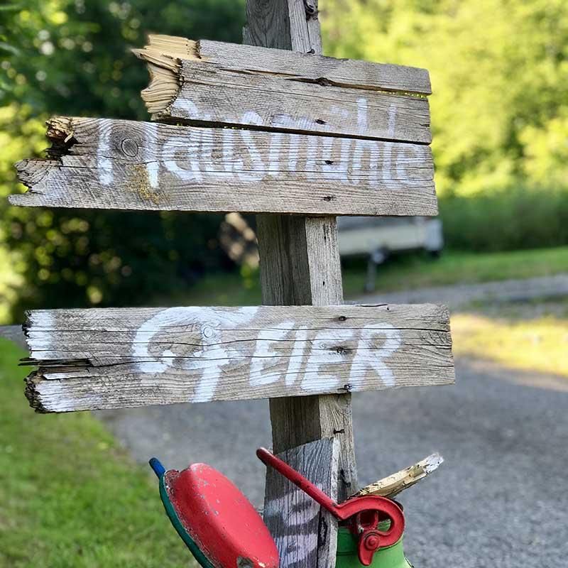 Übernachten in der Pension Mausmuehle im Westerwald