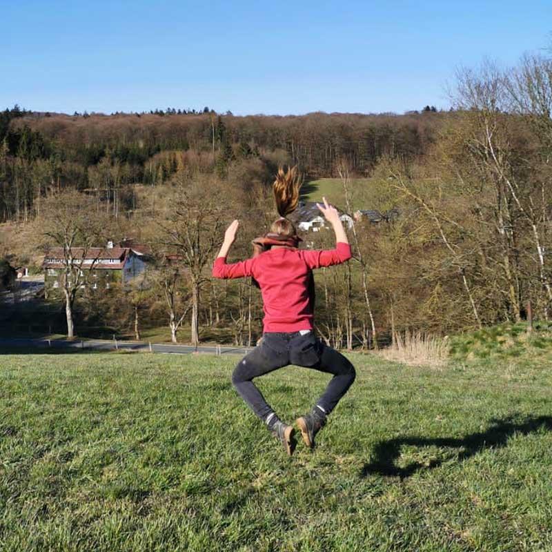 Ferienwohnung in der Pension Mausmuehle im Westerwald