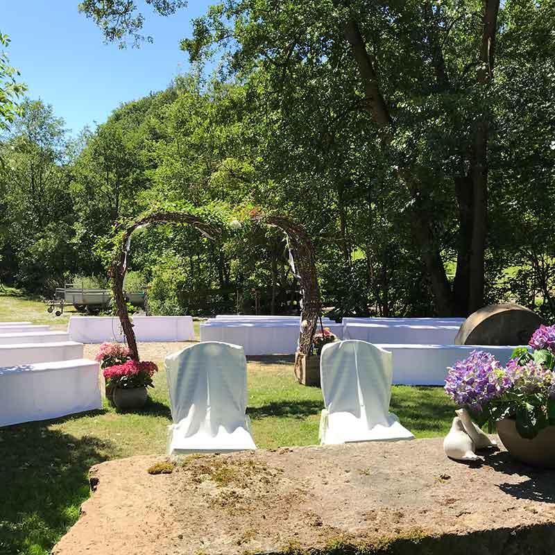 Hochzeit feiern im Westerwald